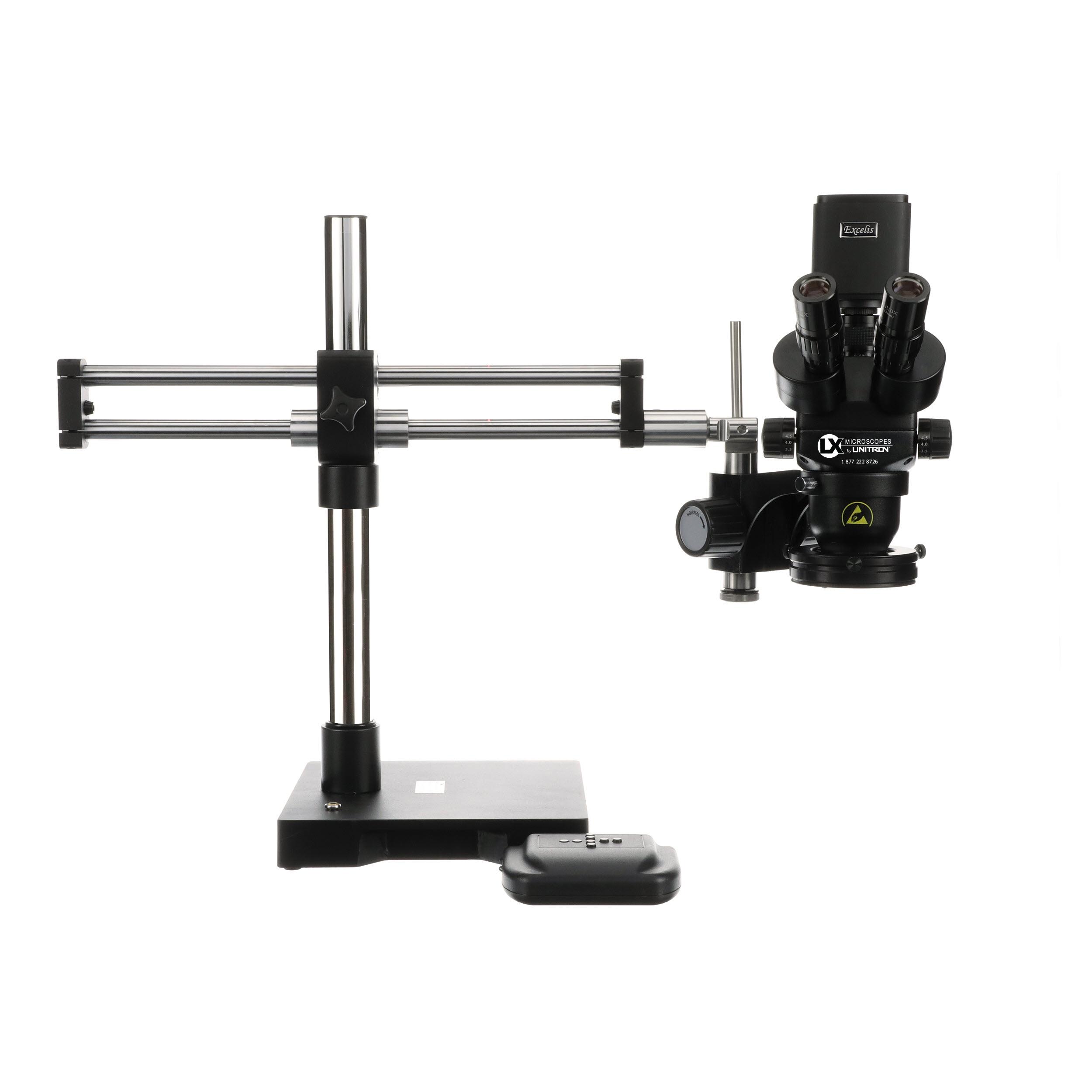 Stereo Microscopes with Digital Cameras