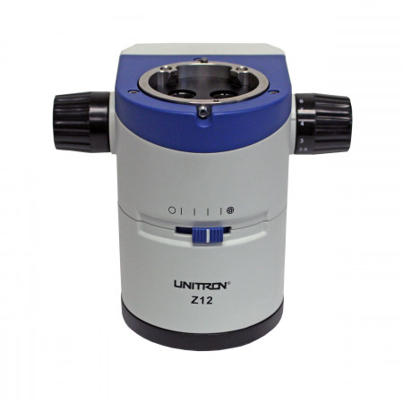 0.8x to 10.0x Zoom Range Optics Carrier and Focus Column