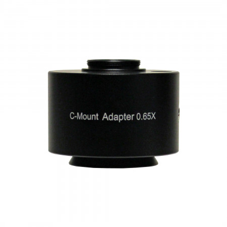 0.65x C-Mount Adapter Focus Adjustable