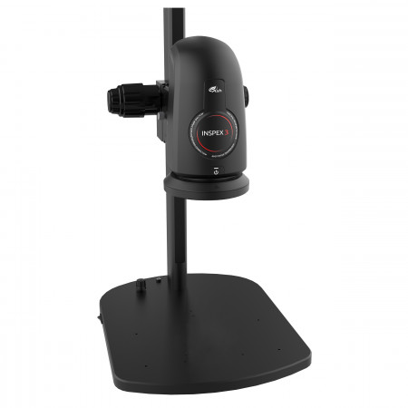 Inspex 3 Smart Inspection Digital Microscope with Track Stand (keypad not shown)