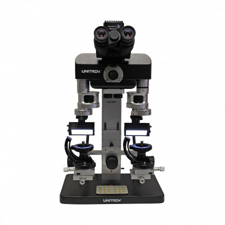 Comparison Forensic Macroscope with Fluorescent Goosenecks