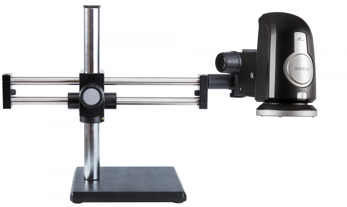 INSPEX II on ball bearing boom stand