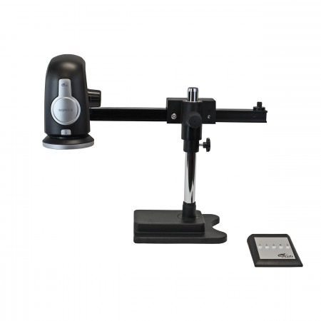 INSPEX II, Gliding Arm Boom Stand and Keypad
