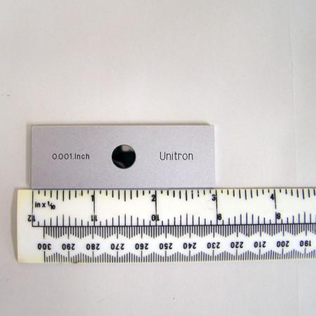 Metal Stage Micrometer - English