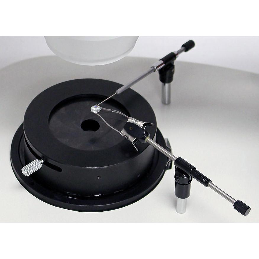Gem holders for microscope